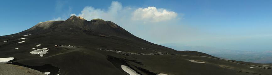 Volcano Etna - Catania, Sicily (panoramic)