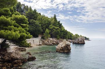 Brela, Split, Kroatien