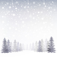 雪 冬 景色 背景 Winter background
