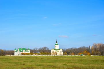 Orthodox monastery in the Ukrainian backwoods