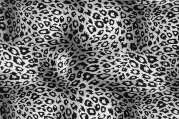 texture of print fabric stripes leopard