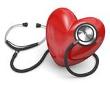 stetoscopio con cuore