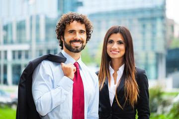 Business persons portrait