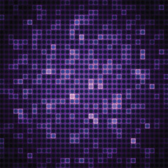 Abstract background of lilac rectangles and circles