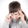Teenager feels Headache
