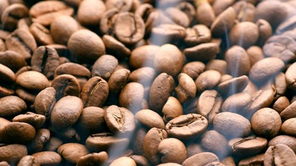 Roasting Coffee Beans. UHD, 4K