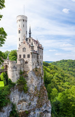 Lichtenstein castle in germany