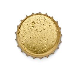 metal cap bottle drink