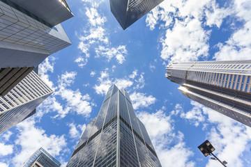 Skyscrapers in Chicago, Michigan, USA