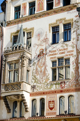 historical architecture in Prague