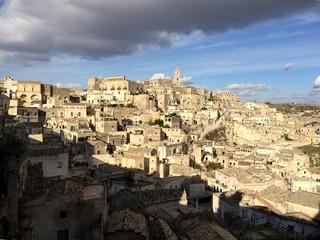 i Sassi di Matera, capitale europea della cultura 2019