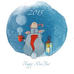 New Year Sheep 2015