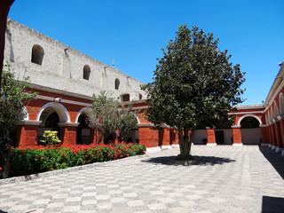 Arequipa, Cloître du Monastère de Santa Catalina, Pérou