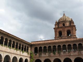 Cuzco, Cloitre de l'église Santo Domingo, Pérou