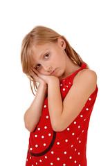 Closeup of young girl.
