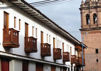 Balcons de Cuzco, Pérou