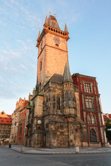 city hall of Prague