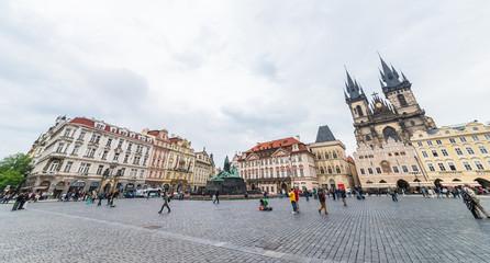 チェコ プラハ 旧市街広場 Prague Czech