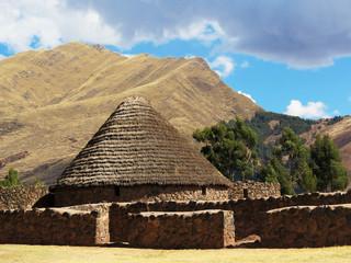 Maison traditionnelles de Raqchi, Pérou