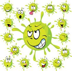 Virus - vector illustration