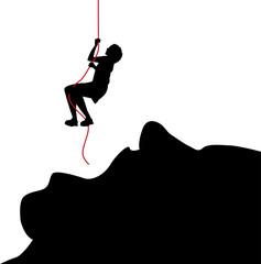simbolica illustrazione contro la violenza sulle donne