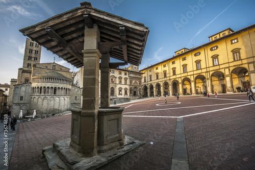 piazza grande Arezzo - 73674838