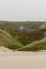 Houses on the cliffs at Sennen Cove