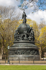 Millennium of Russia is a famous bronze monument