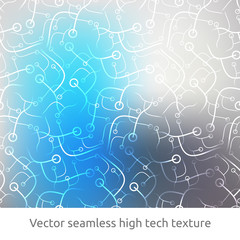 Technology, science, seamless pattern