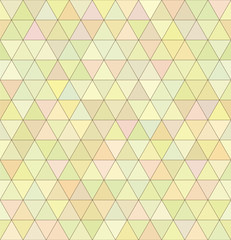 Seamless geometry pastel triangular pattern