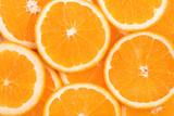 background of orange slices