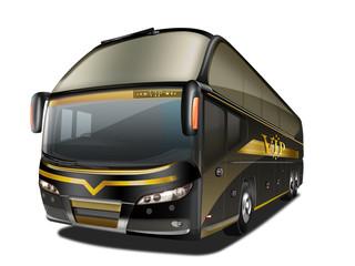 VIP Reisebus, Luxusbus freigestellt