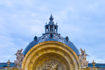 Museum roof in Paris