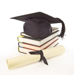 Grad Cap Diploma Books