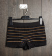 Black boy shorts on the hanger - 73685434