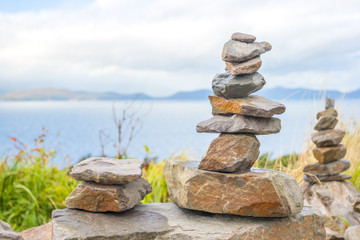 Stones tower
