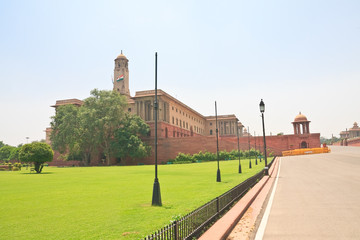 Residence of the President of India. New Delhi