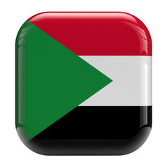 Sudan flag icon image