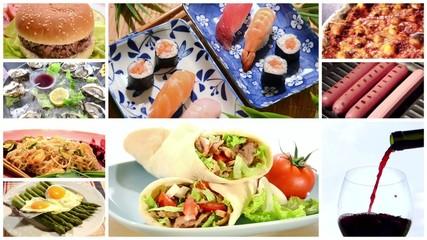 international cuisine montage