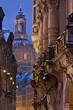 Leinwanddruck Bild - Georgentor Dresden