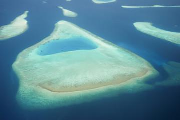 Inselgruppe von oben