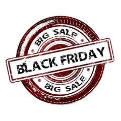 """Grunge Rubber Stamp """"Black Friday Sale"""""""