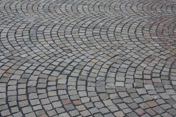 Strada in pietra come sfondo