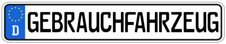 Gebrauchtfahrzeug Schild #141124-svg04