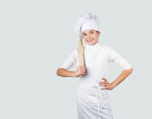 Cuoco con mestolo