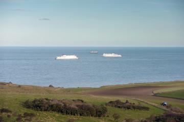 ferry au large,