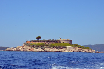 Mamula Island in Montenegro
