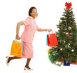 Christmas Shopping - Running for Sales