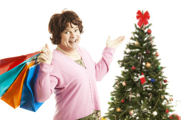 Cross Dresser - Christmas Shopping Spree