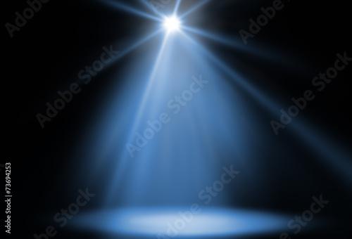 Canvas Licht, schaduw stage spot light